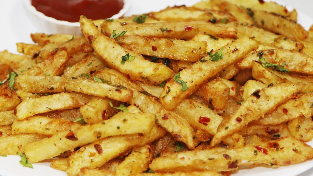 शेफ ने मसाला के साथ रेस्टोरेंट स्टाइल फ्रेंच फ्राइज बनाने की रेसिपी शेयर की