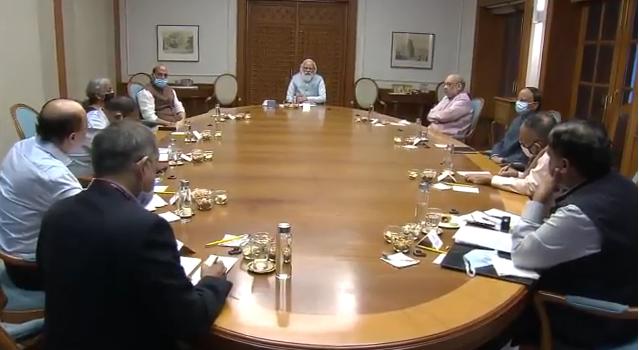Afghanistan Issue: PM Modi ने की बड़ी बैठक, रक्षा मंत्री राजनाथ सिंह और गृहमंत्री रहे मौजूद…