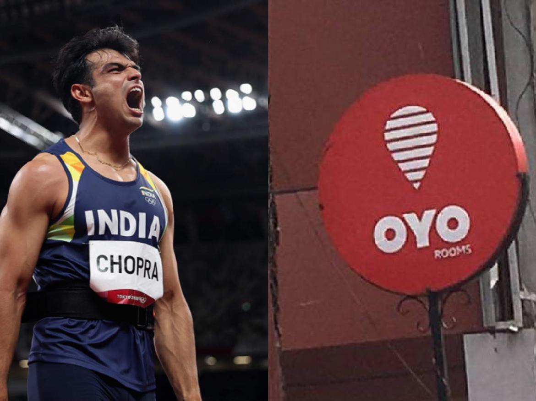 Golden Boy Neeraj Chopra को OYO ने दिया बेहतरीन तोहफा, रितेश अग्रवाल ने ट्वीट कर दी जानकारी