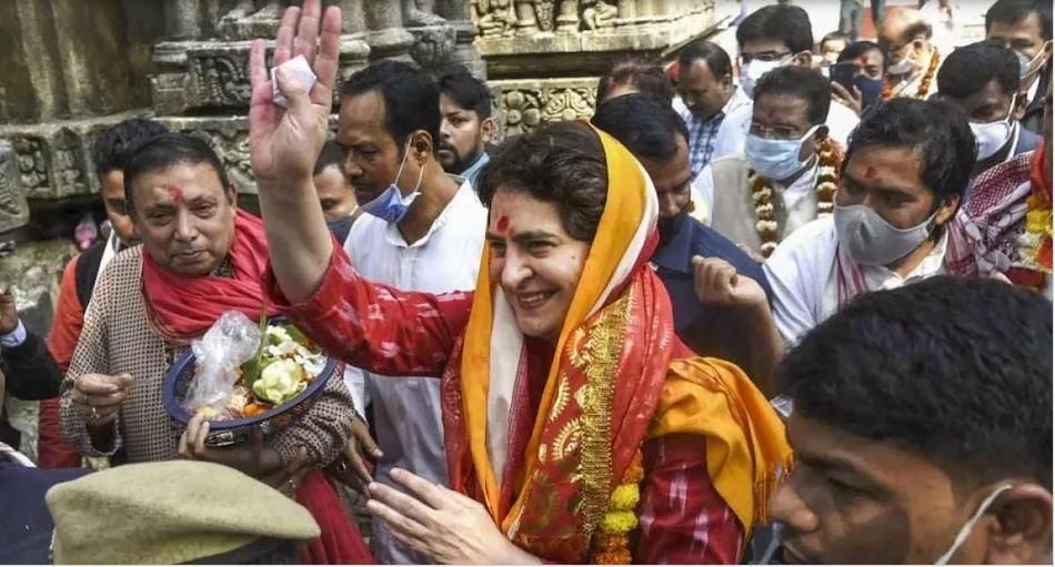 प्रियंका गांधी 'Mission UP 2022' का अयोध्या से करेंगी आगाज, किसान महापंचायत में 27 अगस्त को होंगी शामिल