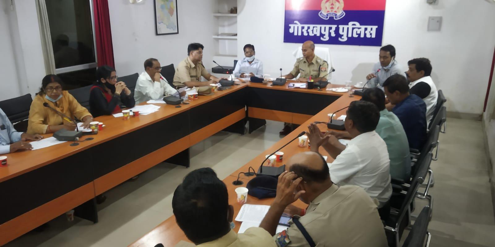 गोरखपुर : एसपी क्राइम ने 'No Child Labor Campaign' के बारे में की चर्चा