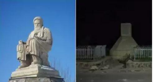Afghanistan crisis: तालिबान ने दिखाया अपना असली रूप, बामियान में विरोधी नेता की मूर्ति हटाई