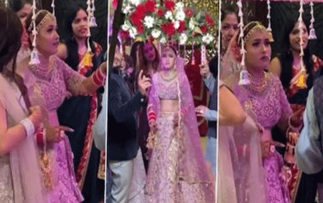 Wedding Video: मंडप में पहुंचने से पहले हुआ कुछ ऐसा दुल्हन ने स्टेज पर जाने से किया इंकार
