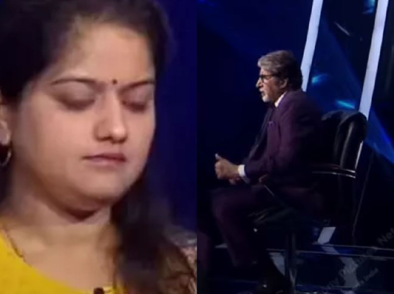 KBC 13 में जोधपुर की Savita bhati 1 करोड़ का सवाल छोड़ा, फिर भी अमिताभ बच्चन हुए इंप्रेस