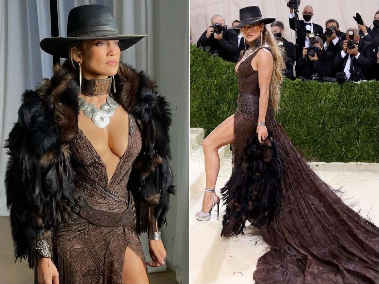 Met Gala 2021: Jennifer Lopez ने 52 साल की उम्र में red carpet पर लगाई आग, देखें हॉट तस्वीरें