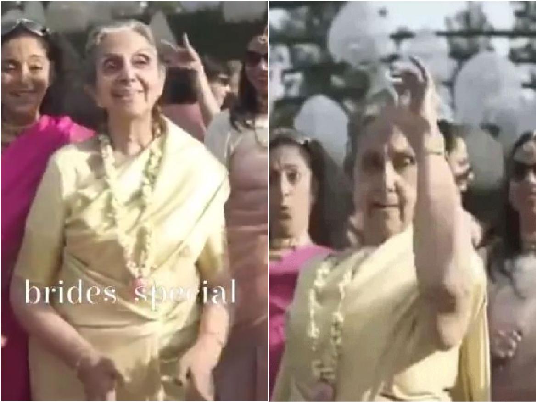 Wedding Video: पोते की शादी में दादी ने लगाए ज़ोरदार ठुमके, फिर आई दुल्हन और…