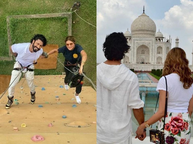 Vidhyut Jamwal ने तोड़ा लाखों कुड़ियों का दिल, Designer Nandita Mahtani संग सगाई की पक्की