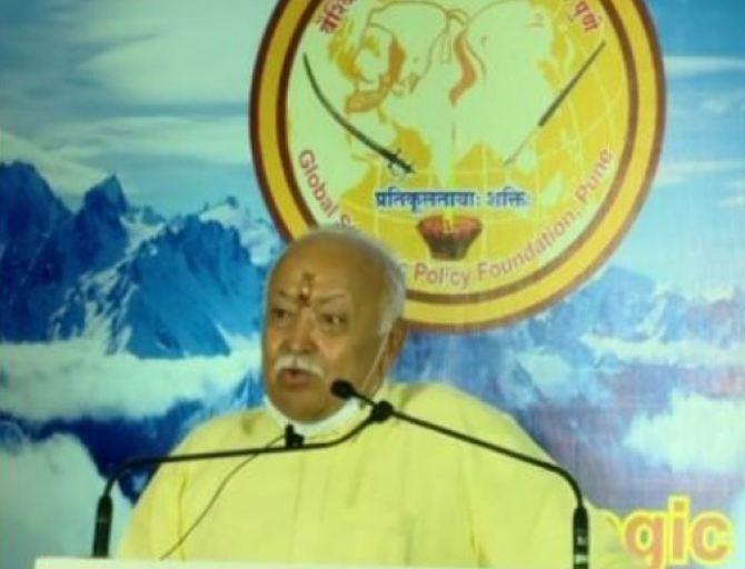 RSS chief Mohan Bhagwat का बड़ा बयान, कहा- भारत से इस्लाम मिट जाएगा और मुसलमान सभी पदों पर …