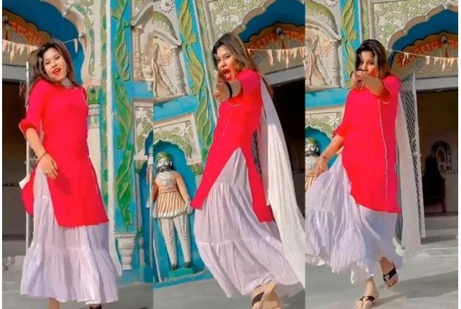 Viral Video : मंदिर के सामने युवती ने इस गाने पर लगाए ठुमके, बजरंग दल बोला- हिंदू संस्कृति को बदनाम करने की साजिश