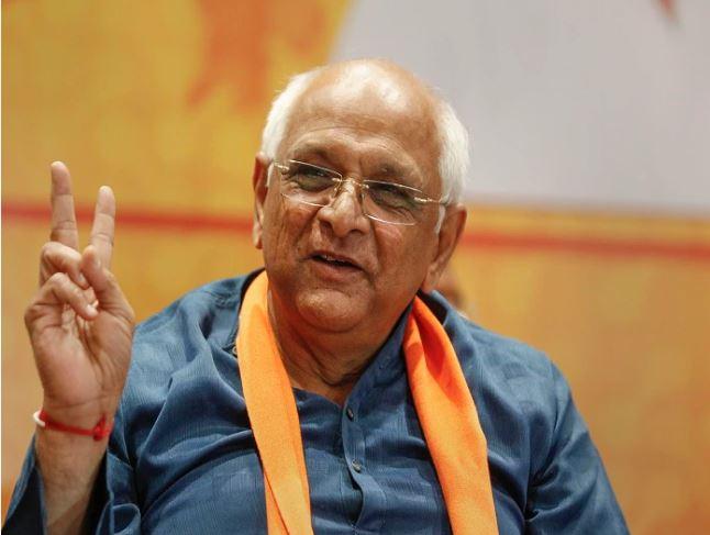 Gujarat :17वें CM के तौर पर आज शपथ लेंगे भूपेंद्र पटेल, उपमुख्यमंत्री नितिन पटेल से की मुलाकात