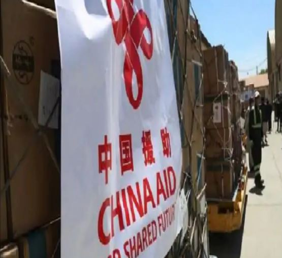 चीन ने अफगानिस्तान भेजी आपातकालीन मानवीय सहायता सामग्री की पहली खेप, खाने-पीने के पैकेट्स भी भेजे