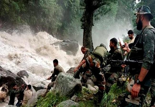 उत्तरी कश्मीर बारामूला जिले में Cloudburst, बक्करवाल समुदाय के पांच सदस्य बहे