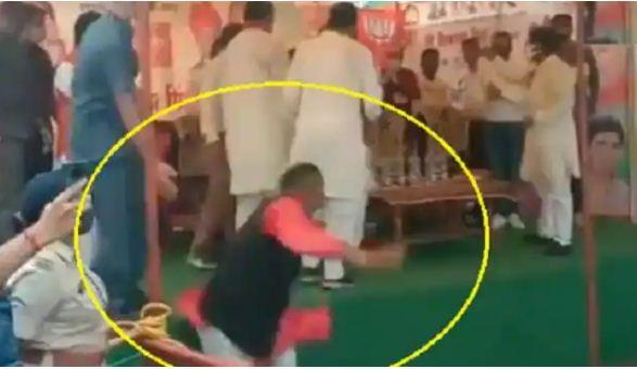 Viral Video: हमारा नेता कैसा हो, CM शिवराज सिंह के सामने बोलते ही मंच से गिरे BJP नेता