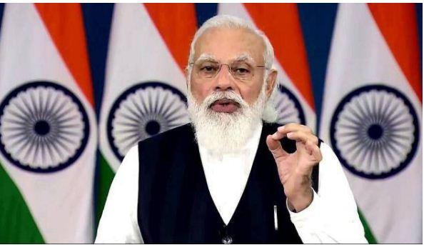 PM मोदी ने कांग्रेस पर साधा निशाना, कहा-रिकॉर्ड टीकाकरण के बाद एक पार्टी को आया बुखार