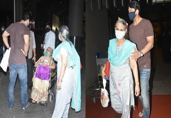 रक्षाबंधन पर्व पर मां को रिसीव करने मुंबई एयरपोर्ट पहुंचे थे Sidharth Shukla, मां के साथ दिखी थी बेहतरीन बॉन्डिंग