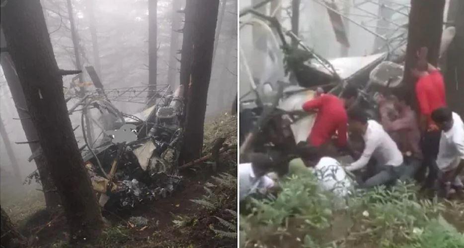 Jammu – Kashmir : उधमपुर में सेना का हेलिकॉप्टर क्रैश, पायलट व को-पायलट की हालत चिंताजनक
