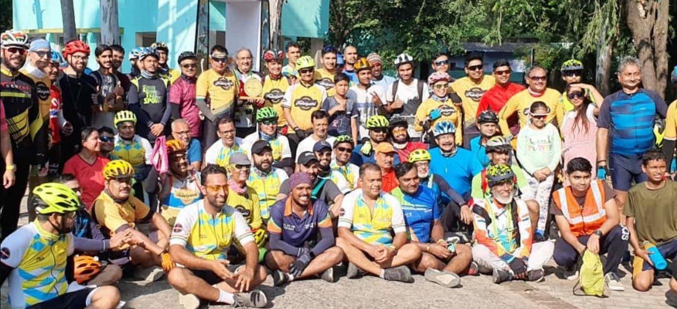 Environmental protection: लखनऊ-कानपुर के साइकिलिस्टों ने की अनोखी पहल, सैकड़ों राइडर्स पहुंचे नवाबगंज पक्षी विहार