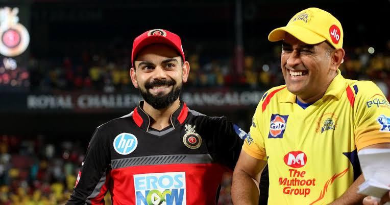 IPL 2021: हार के बाद धोनी के पास जाकर उनके साथ किस प्रकार मजाक कर रहे हैं बेंगलुरु के कप्तान विराट कोहली Viral Video…