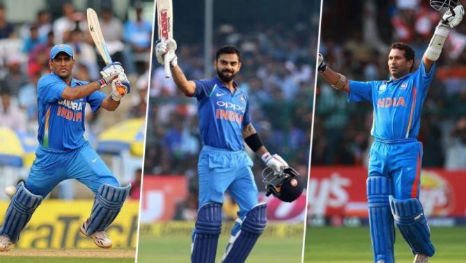 Breaking: एक ही मैच में भारत के दो दिग्गज क्रिकेटरों सचिन और धोनी के विश्व रिकार्डों को कोहली ने तोड़ा