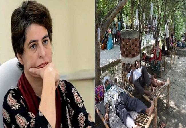 Priyanka Gandhi बोलीं- योगी जी देखिए अस्पतालों का हाल, क्या यही है आपकी इलाज की 'नंबर 1' सुविधा?