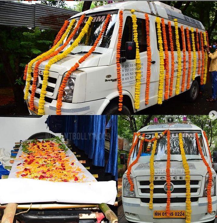 LIVE: Siddharth Shukla के पार्थिव शरीर को ले जाया जा रहा श्मशान घाट, देखें तस्वीर…