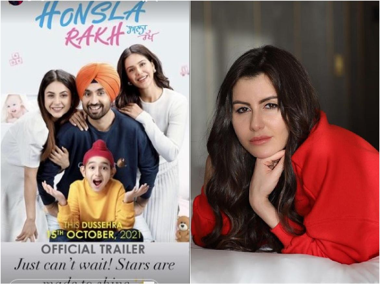 Georgia Andriani ने शहनाज गिल की फिल्म 'हौसला रख' को लेकर दिया बयान, कहा- सितारे चमकने के लिए पैदा होते हैं