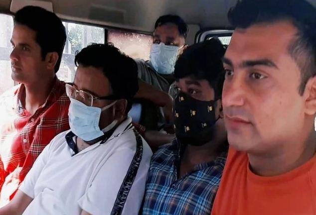 Lakhimpur Kheri Case: पुलिस कराएगी घटना का सीन रिक्रिएशन, तीन आरोपियों को जेल से लेकर पहुंची पुलिस लाइन