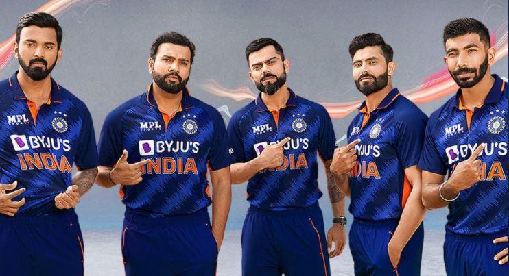 Breaking: लांच हुई टी20 क्रिकेट विश्वकप के लिए टीम इंडिया की नई जर्सी, यहां देखें